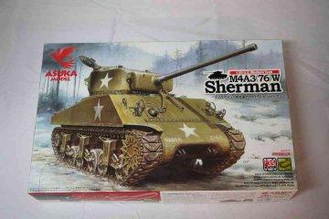 ASU35019 - Asuka Model 1/35 M4A3(76)W Sherman