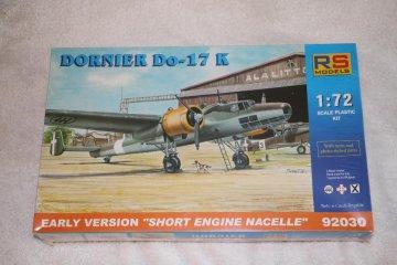 RSM92030 - RS Models 1/72 Dornier Do-17 K