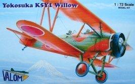 VAL72052 - Valom 1/72 Yokosuka K5Y1 Willow