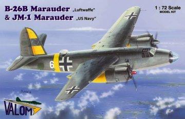 VAL72050 - Valom 1/72 B-26B Marauder 'Luftwaffe'