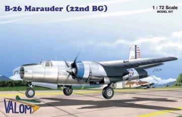 VAL72043 - Valom 1/72 B-26 Marauder (22nd BG)