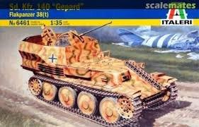 ITA6461 - Italeri 1/35 Sd.Kfz.140 Gepard Flakpanzer 38(t)