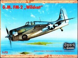 SWO72020 - Sword 1/72 G.M. FM-2 Wildcat