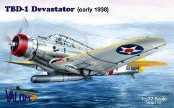 VAL72011 - Valom 1/72 TBD-1 Devastator (early 1938)