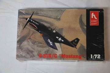 HOB1325 - Hobbycraft 1/72 P-51B/C Mustang