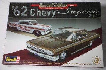REV4246 - Revell 1/25 62 Chevy Impala 2'n1