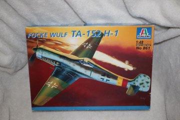 ITA861 - Italeri 1/48 TA-152 H-1