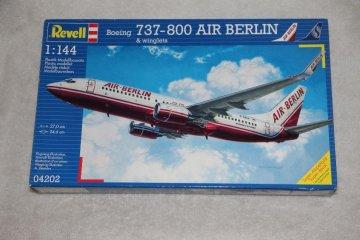 REV04202 - Revell 1/144 737-800 Air Berlin