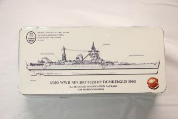 RES86506 - Resin Shipyard 1/350 WWII MN Battle Dunkerque Package 1940