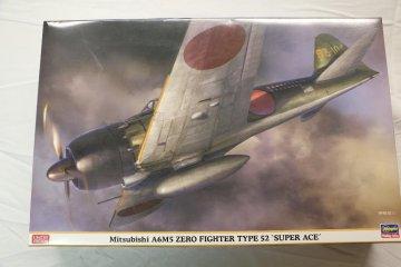 HAS08245 - Hasegawa 1/32 Mitsubishi A6M5 Zero Fighter Type 52 'Super Ace'