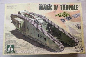 TKM2015 - Takom 1/35 Mark.IV Tadpole WWI Heavy Tank