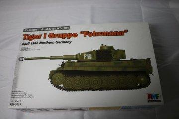 """RYERM5005 - Rye Field 1/35 Tiger I Gruppe """"Fehrmann"""""""
