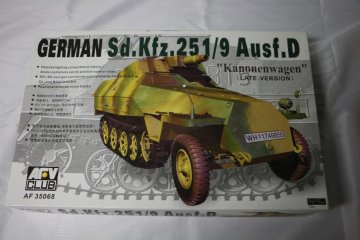 AFV35068 - AFV Club 1/35 German Sd.Kfz.251/9 Ausf.D