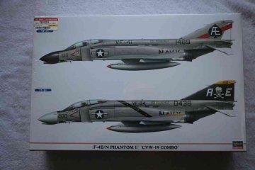 HAS00942 - Hasegawa 1/72 F-4B/N Phantom II 'CVW-19 Combo