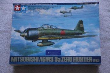 TAM61108 - Tamiya 1/48 Mitsubishi A6M3/3a Zero Fighter (ZEKE)