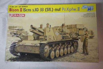 DRA6440 - Dragon 1/35 Bison II 15cm s/IG 33 auf Pz.KpfwII