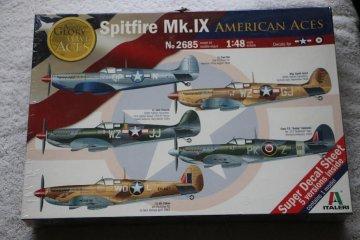 ITA2685 - Italeri 1/48 Spitfire Mk.IX 'American Aces'
