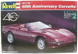 REV7347 - Revell 1/24 40th Anniversary Corvette