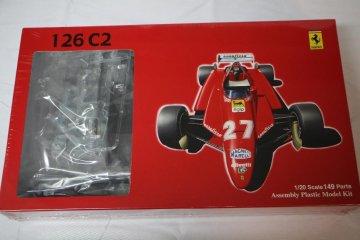 FUJ09034 - Fujimi 1/20 Ferrari 126 C2