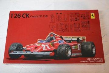 FUJ090382 - Fujimi 1/20 Ferrari 126CK Canada GP 1981