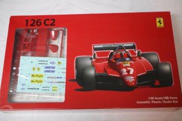 FUJ09032 - Fujimi 1/20 Ferrari 126C2 San Marino GP