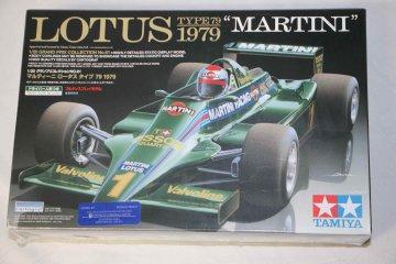 TAM20061 - Tamiya 1/20 Lotus Type 79 1979 Martini
