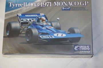 EBB007 - EBBRO 1/20 Tyrrell 003 J.Stewart