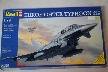 REV04338 - Revell 1/72 Eurofighter Typhoon Twin Seater