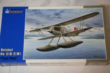 SPE48089 - Special Hobby 1/48 He 51B-2(W) Floats