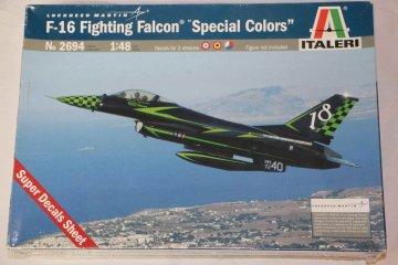 ITA2694 - Italeri 1/48 F-16 Fighting Falcon 'Special Col.)