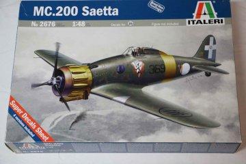 ITA2676 - Italeri 1/48 MC.200 Saetta