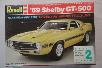 REV7161 - Revell 1/25 1969 Shelby GT-500 All American