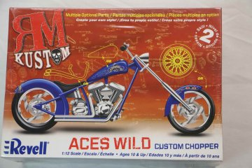 REV7315 - Revell 1/12 Aces Wild Custom Chopper