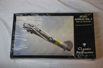 CLA4121 - Classic Airframes 1/48 Avro Anson Mk.I Post War Markings