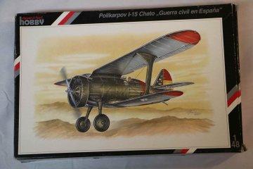 SPE48015 - Special Hobby 1/48 Polikarpov I-15 Chato
