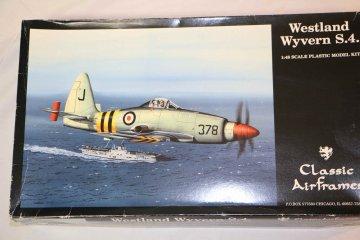 CLA491 - Classic Airframes 1/48 Westland Wyvern S.4
