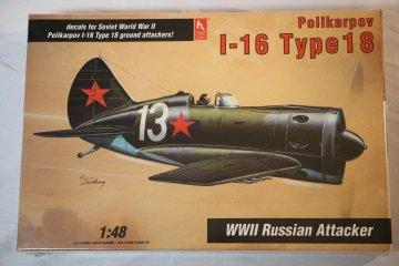 HOB1577 - Hobbycraft 1/48 I-16 Type 18 Russian Rocket-Armed