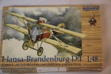 EDU8004 - Eduard Models 1/48 Hansa-Brandenburg D.1