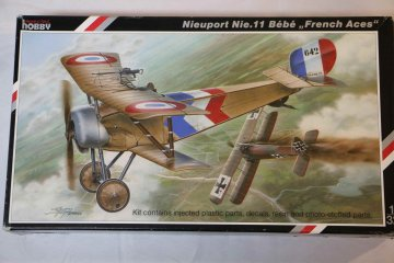 SPE32015 - Special Hobby 1/32 Nieuport Ni-11 Bebe 'French Aces