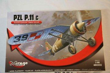 MIR481002 - Mirage Hobby 1/48 PZL P.11c