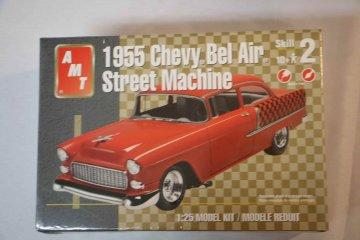 AMT38353 - AMT 1/25 1955 Chevy Bel Air Street Machine