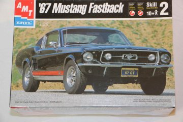 AMT6631 - AMT 1/25 1967 Ford Mustang GT Fastback