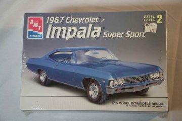 AMT8207 - AMT 1/25 1967 Chev Impala Super Sport