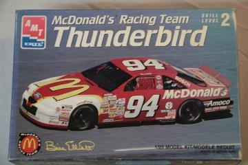 AMT8402 - AMT 1/25 Thunderbird McDonald's Tacing Team