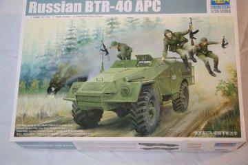 TRP05517 - Trumpeter 1/35 Russian BTR-40 APC