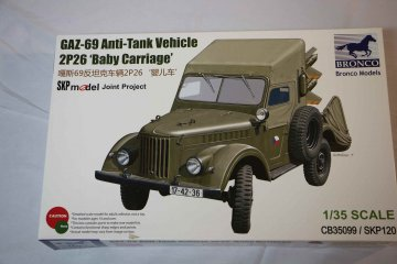 BROCB35099 - Bronco 1/35 GAZ-69 'Baby Carriage' AntiTank Veh