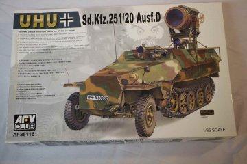 AFV35116 - AFV Club 1/35 Sd.Kfz.251/20 Ausf.D