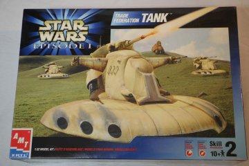 AMT30123 - AMT 1/32 Star Wars Trade Federation Tank